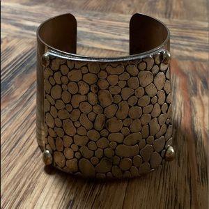 Vintage Solid Copper Cuff Bracelet